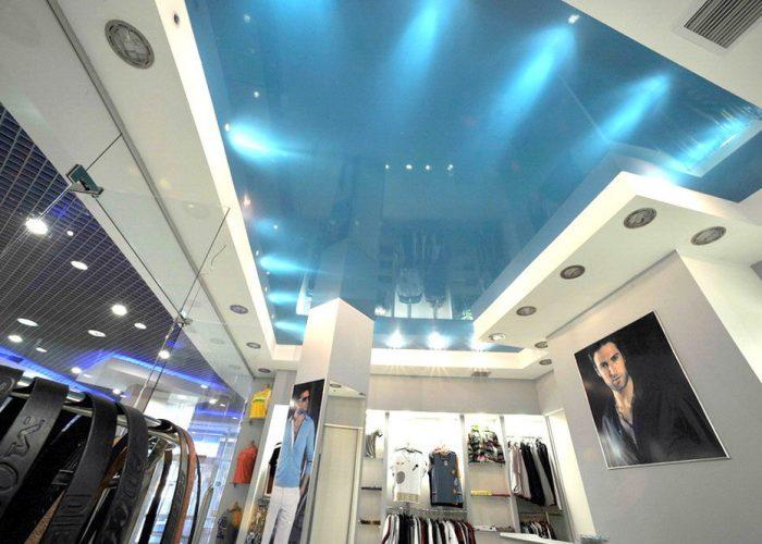 натяжные потолки в коммерческих помещениях (4)